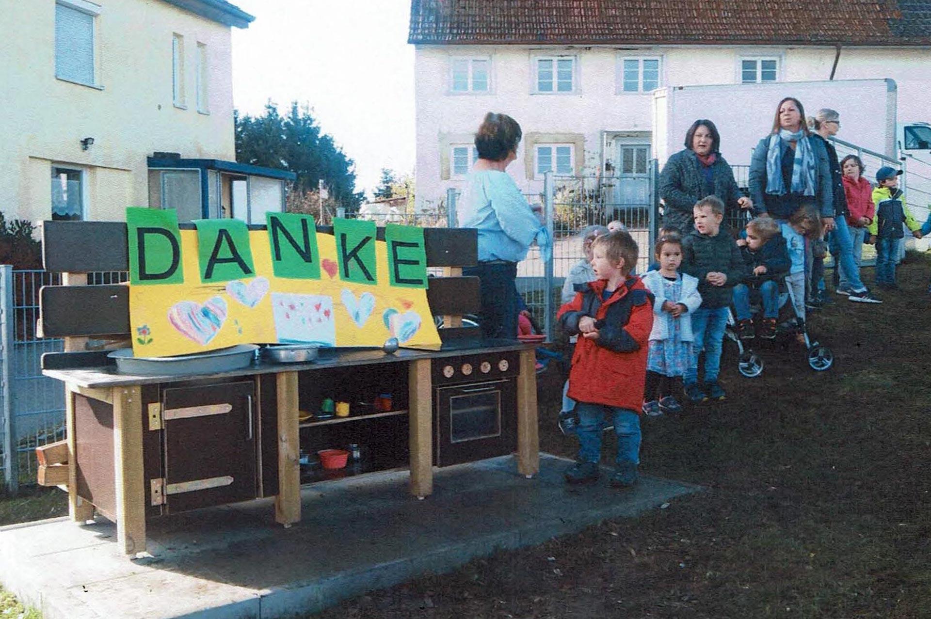 Spendenaktion Kinder-Baustelle